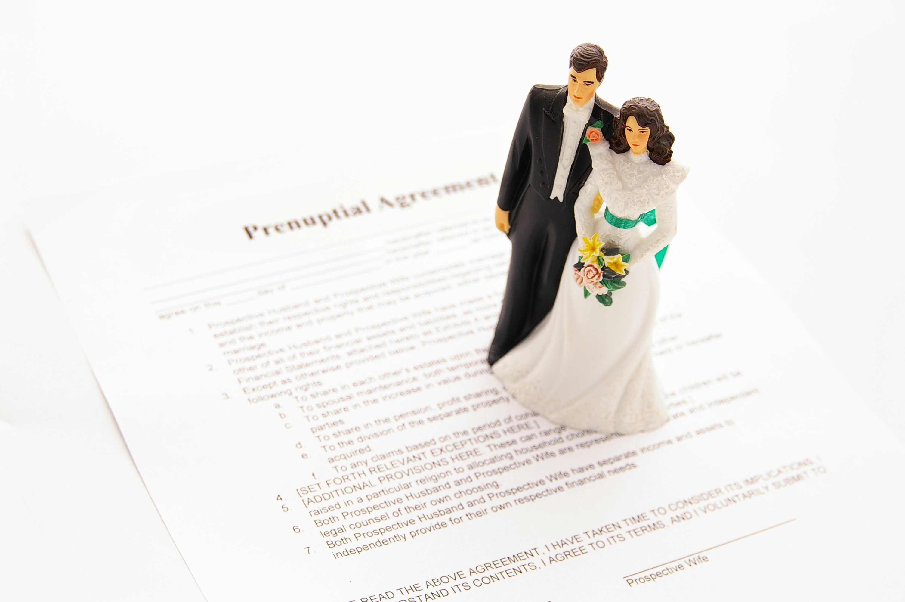 Weddings, Engagements and Prenups | Wealth Management