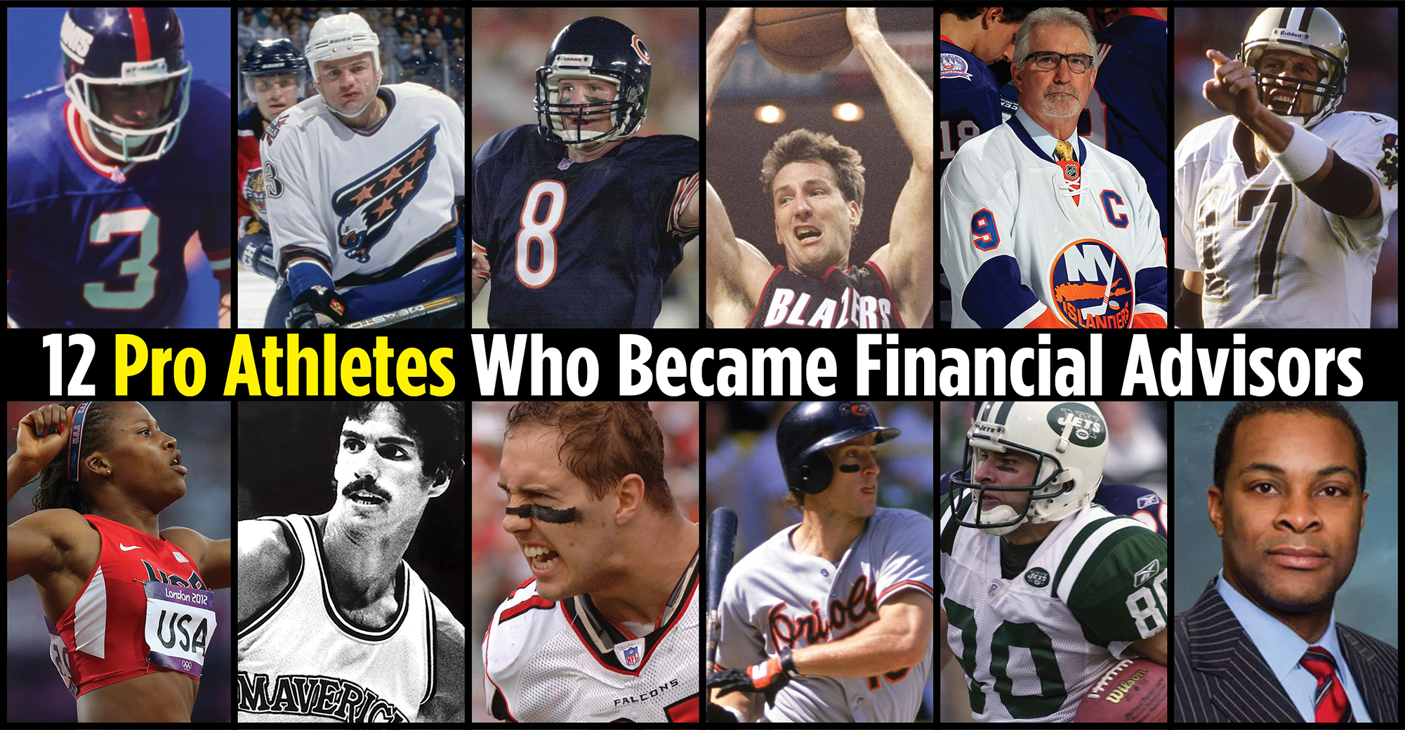 Chris Dudley, Wayne Chrebet, Jim Everett: Athletes Who