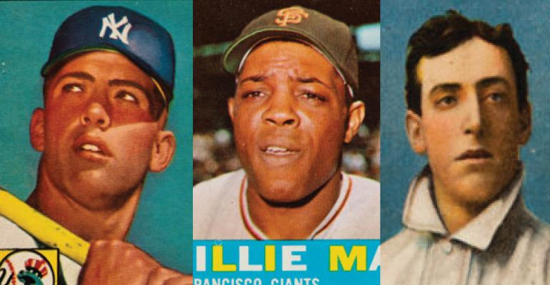 Mickey Willie And The Babe The Summer Sports Card Catalog Auction