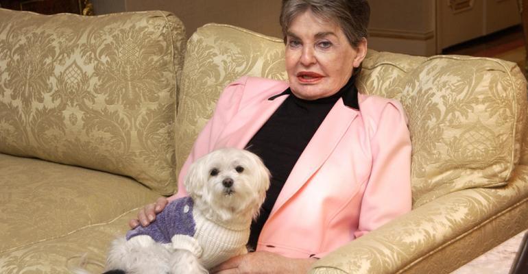 Leona Helmsley died in 2007
