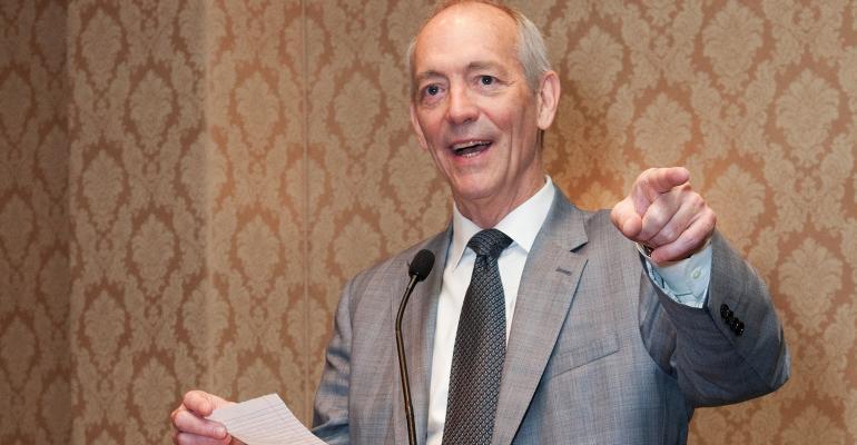 David Tittsworth at the 2014 IAA Conference