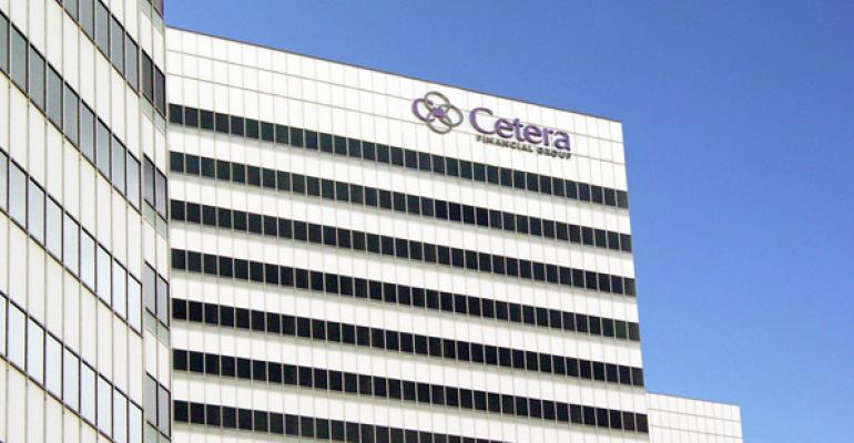 Cetera was another firm that made significant gains by employing 2569 advisors last year up from 1930 in 2011