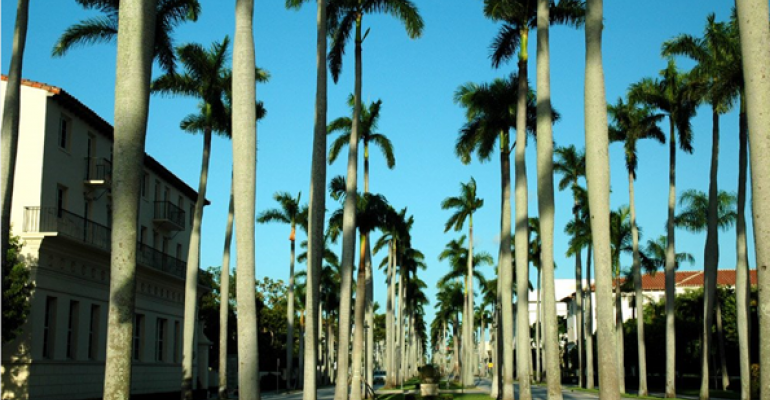 Royal Palm Way in West Palm Beach Fla has benefited from a heavy presence of wealth management and financial services firms with average rents increasing 09 percent over the past two years Rents on Royal Palm Way currently average 5852 per sq ft for all office spaces and 7075 per sq ft for the most luxurious buildings