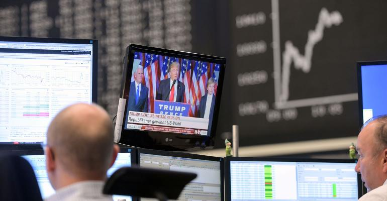 Frankfurt Stock Exchange reaction U.S. election