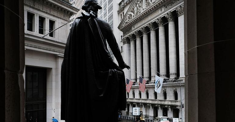 George Washington Statue Wall Street NYSE