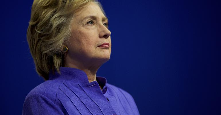Hillary Clinton Mark Makela Getty Images