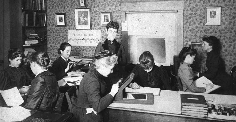 Pickering's Computers at Harvard University