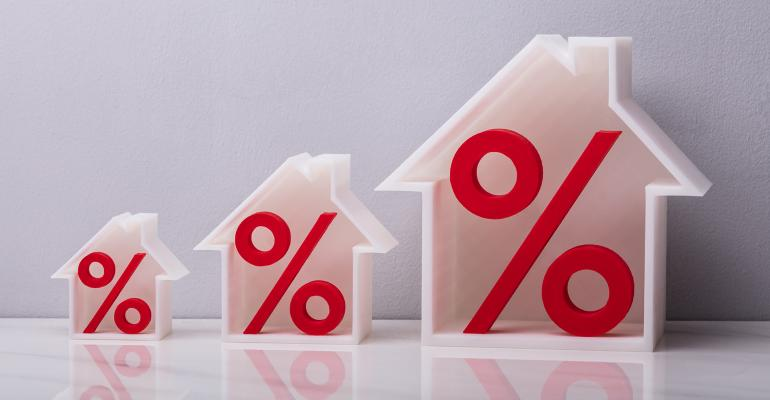 houses percentage signs