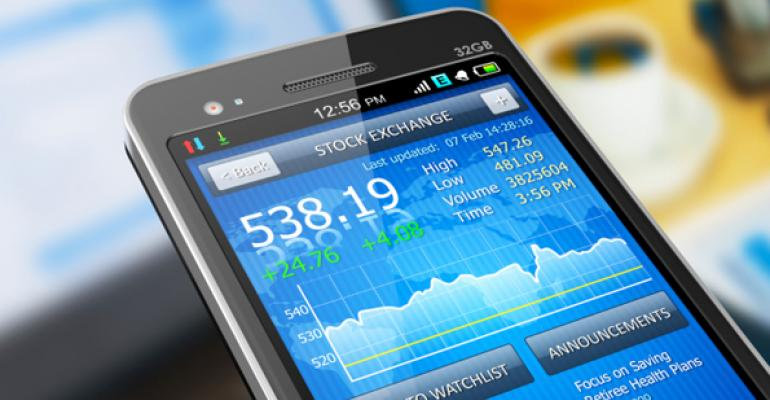 mobile trading app