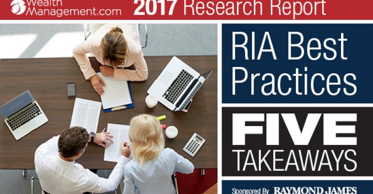 RIA Best Practices_5 Takeaways