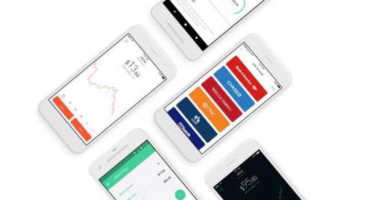 Robinhood's mobile trading app