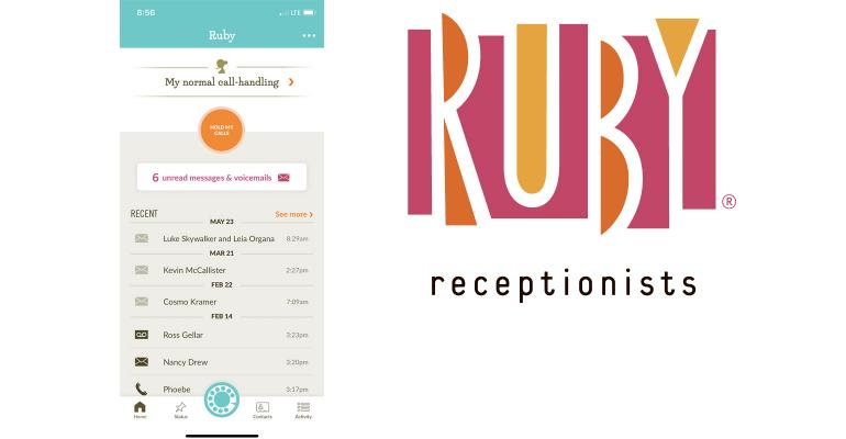 Ruby Receptionists Image
