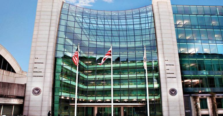 SEC headquarters in Washington DC