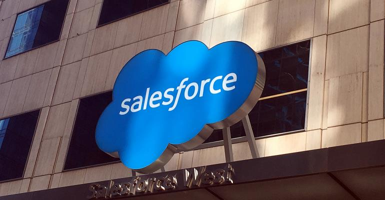 Salesforce office sign