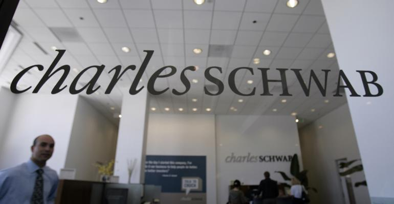 Charles Schwab office sign