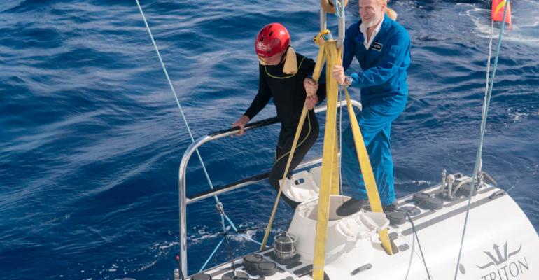 Five Deeps Expedition, Caladan Oceanic LLC