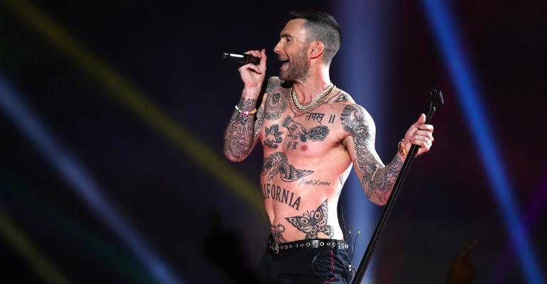 Maroon 5 Adam Levine Super Bowl LIII