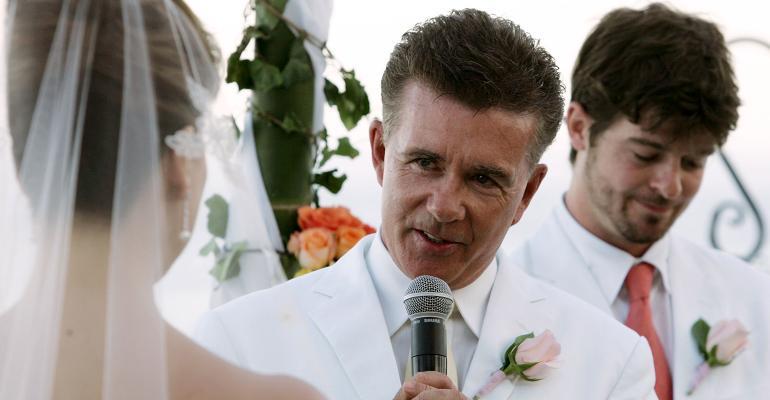 Alan Thicke wedding