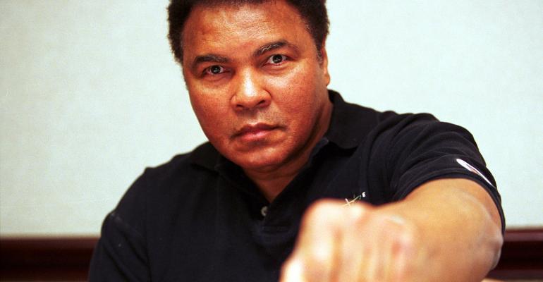 Mohammed Ali punch