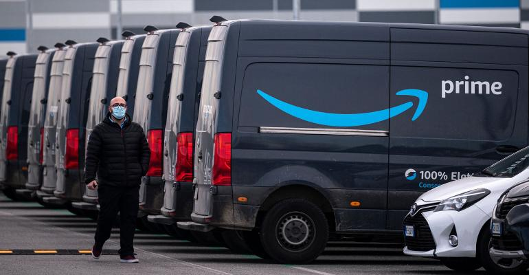 Amazon Prime trucks