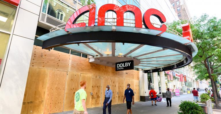 AMC theater closed
