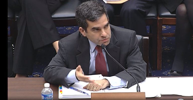 SEC Head of Enforcement Andrew Ceresney came under fire regarding administrative proceedings at a  the House Financial Services Committee hearing on Thursday