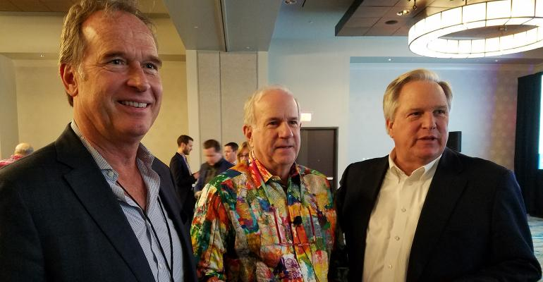Jud Bergman, Bob Curtis and Edmond Walters