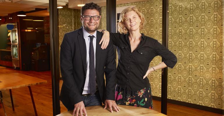 Barak Kassar and Kristin Wiederholt