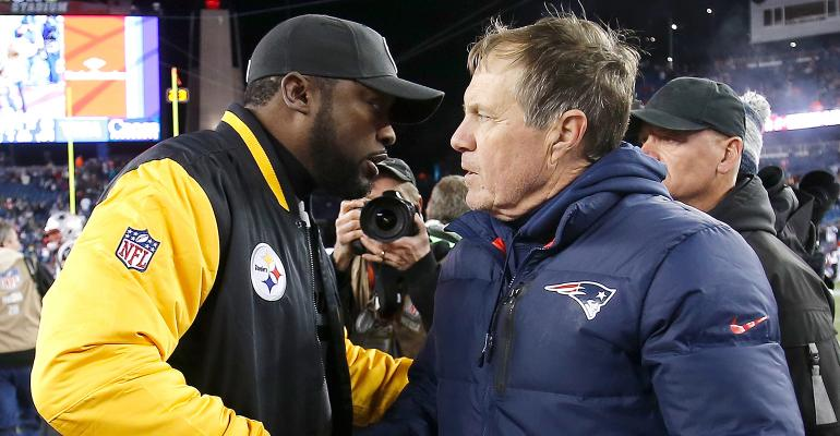 Bill Belichick Mike Tomlin
