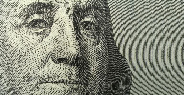 Ben Franklin close up