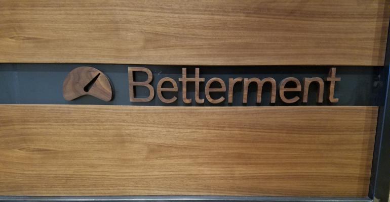 Betterment sign