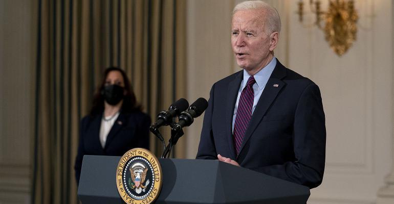 President Joe Biden Vice President Kamala Harris