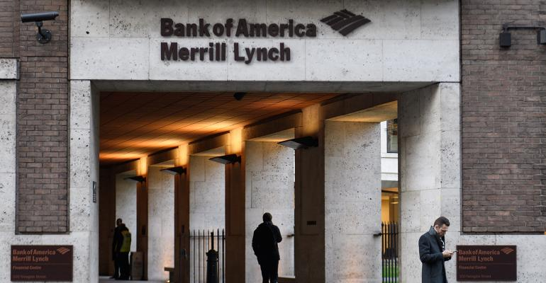 A Merrill Lynch sign.