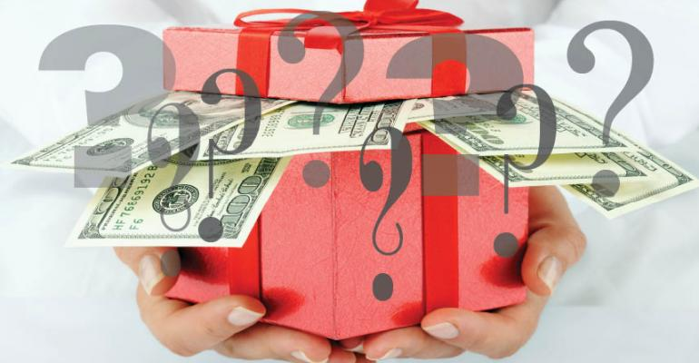 money gift question