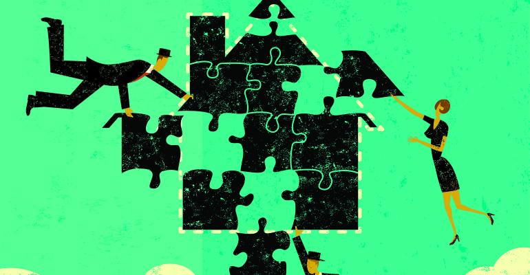 business team puzzle