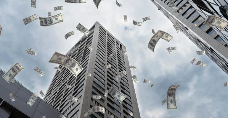 money cityscape