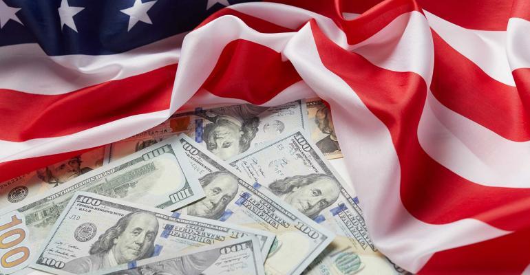 U.S. flag money
