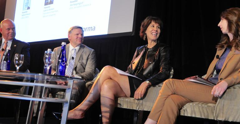 Wealth Management Industry Awards Executive Forum CEOs panel