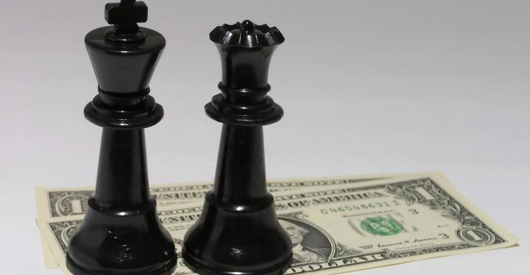 chess pieces money