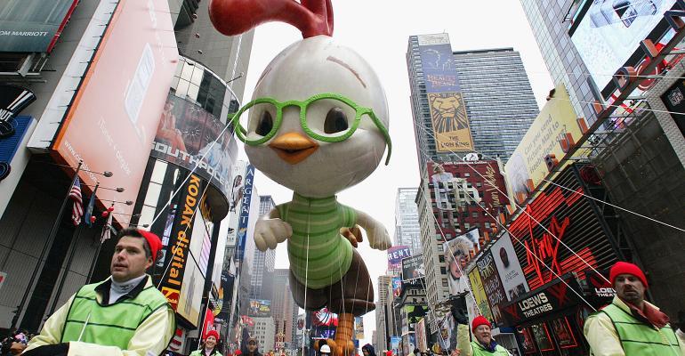 Chicken Little Macy's parade
