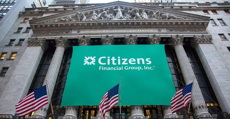 A Citizens Financial Group banner.