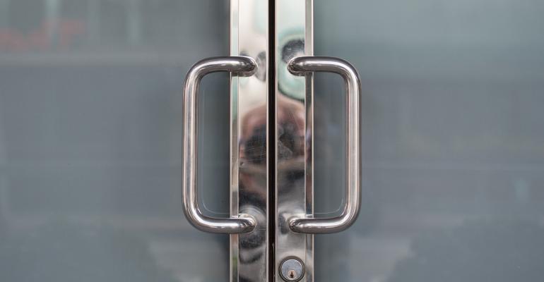 closed office doors