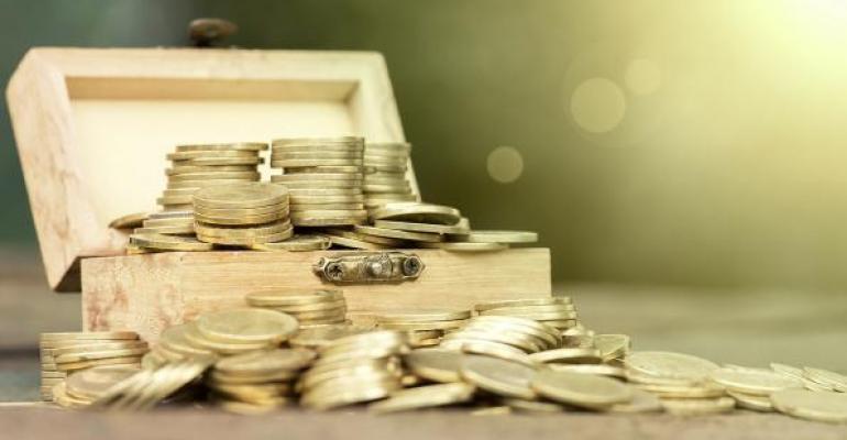 Coins Wooden Box
