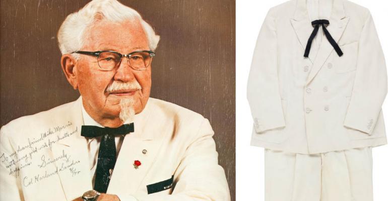 Col. Sanders KFC suit