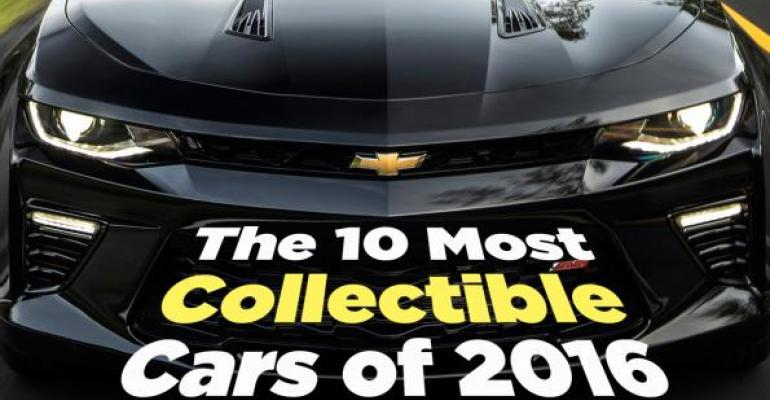Collectible cars promo.