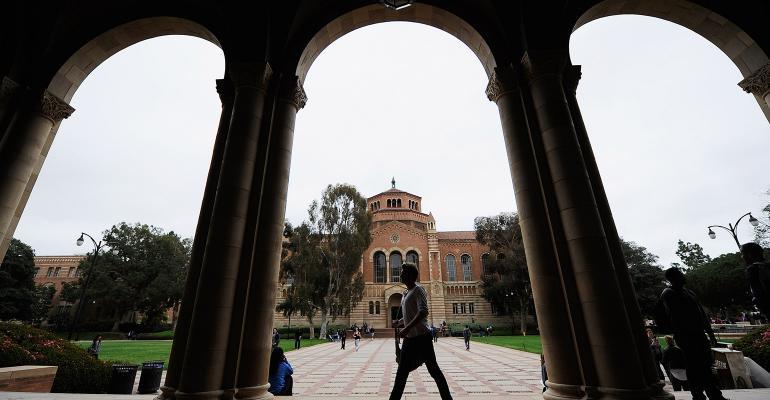 college campus UCLA