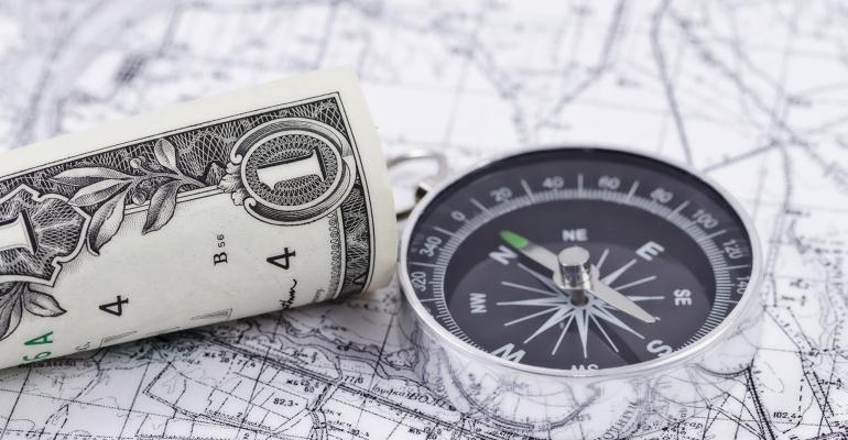 compass money map