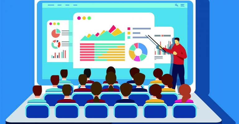 computer presentation
