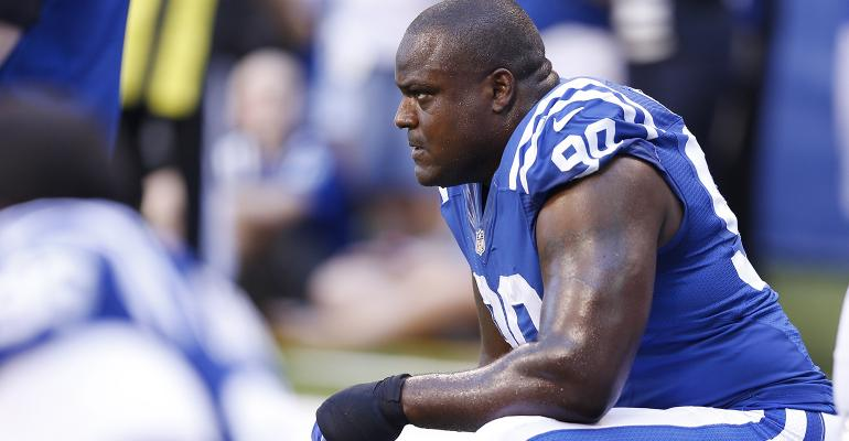 Cory Redding Indianapolis Colts
