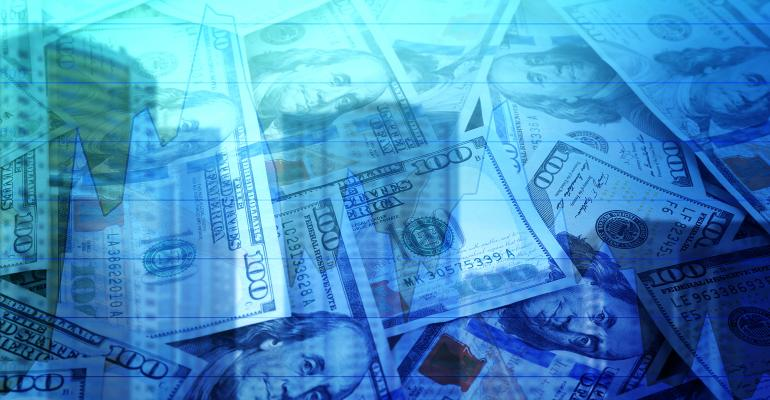 cityscape money